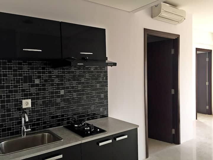 Designed private apartment in south jakarta