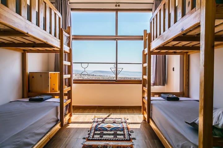 Sun House Taghazout Bunk-bed private room