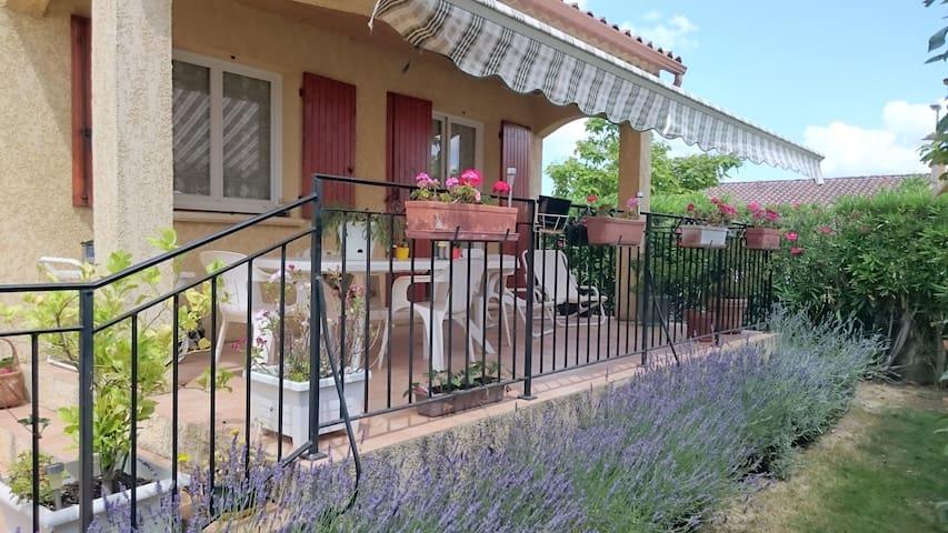 La maison au jardin fleurie - Redessan - Villa