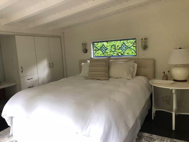A unique and lush retreat.