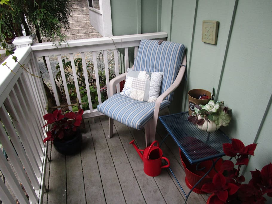 Your Front Porch in the Garden