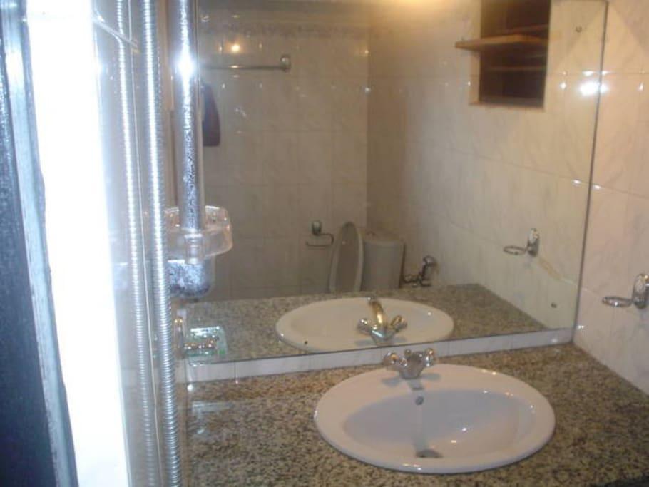 Wash Room - vanity sink