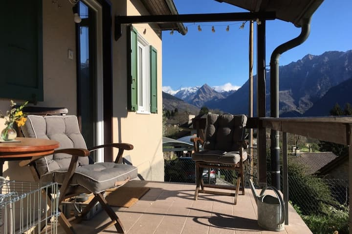 Guesthouse La Fornasina, Zuhause mit Aussicht
