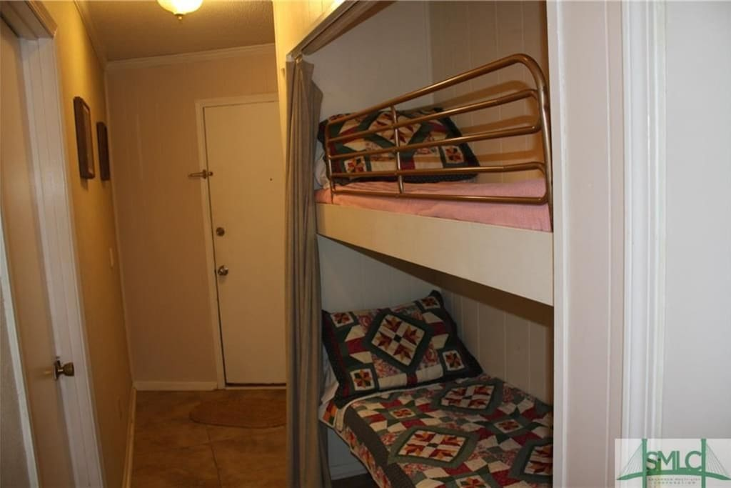 Captain bunks are perfect for children!