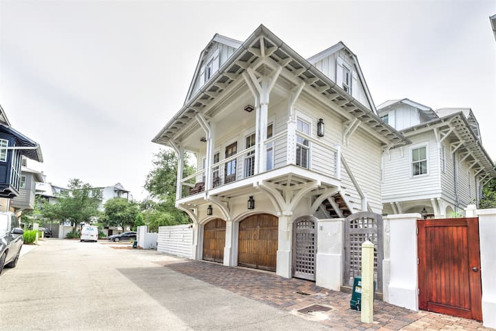 `At Last` Beautiful Rosemary Beach Carriage House + FREE BIKES