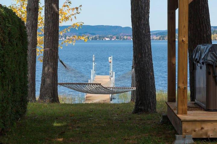 Chalet L'Aylmer-sur-le-Lac, Spa, pêche et quai