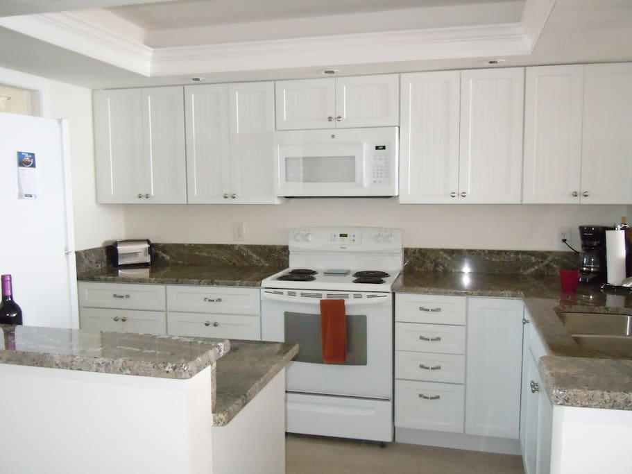 Bright remodeled kitchen