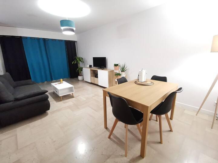 Chambres d'hôte dans bel appartement spacieux