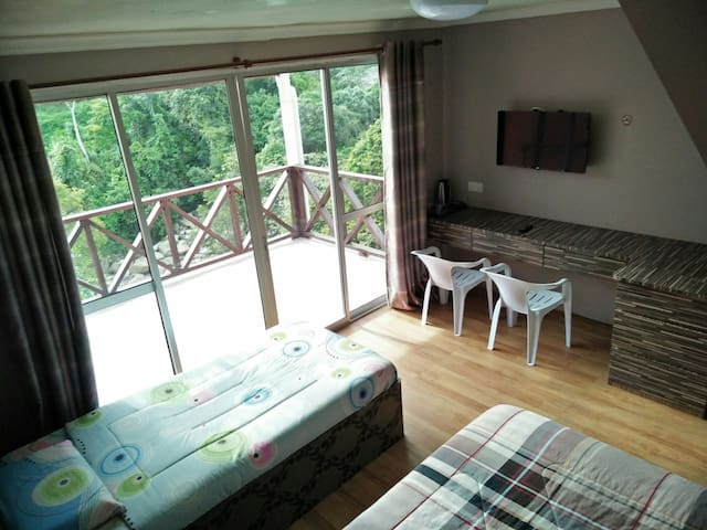 Cozy room up to 6 person - Kundasang - Otros
