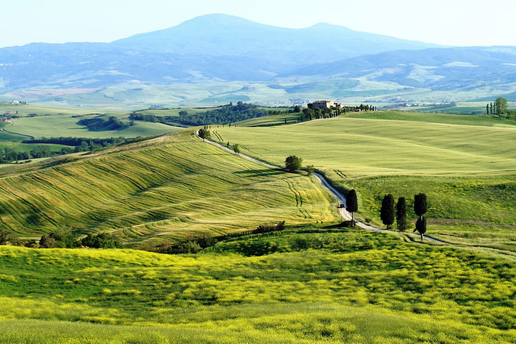 Val d'Orcia - The best panoramic view
