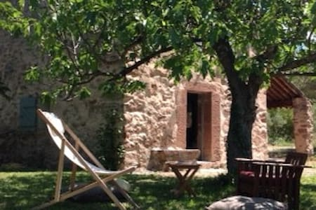charmant cabanon provençal au milieu des vignes - Cuers - 一軒家