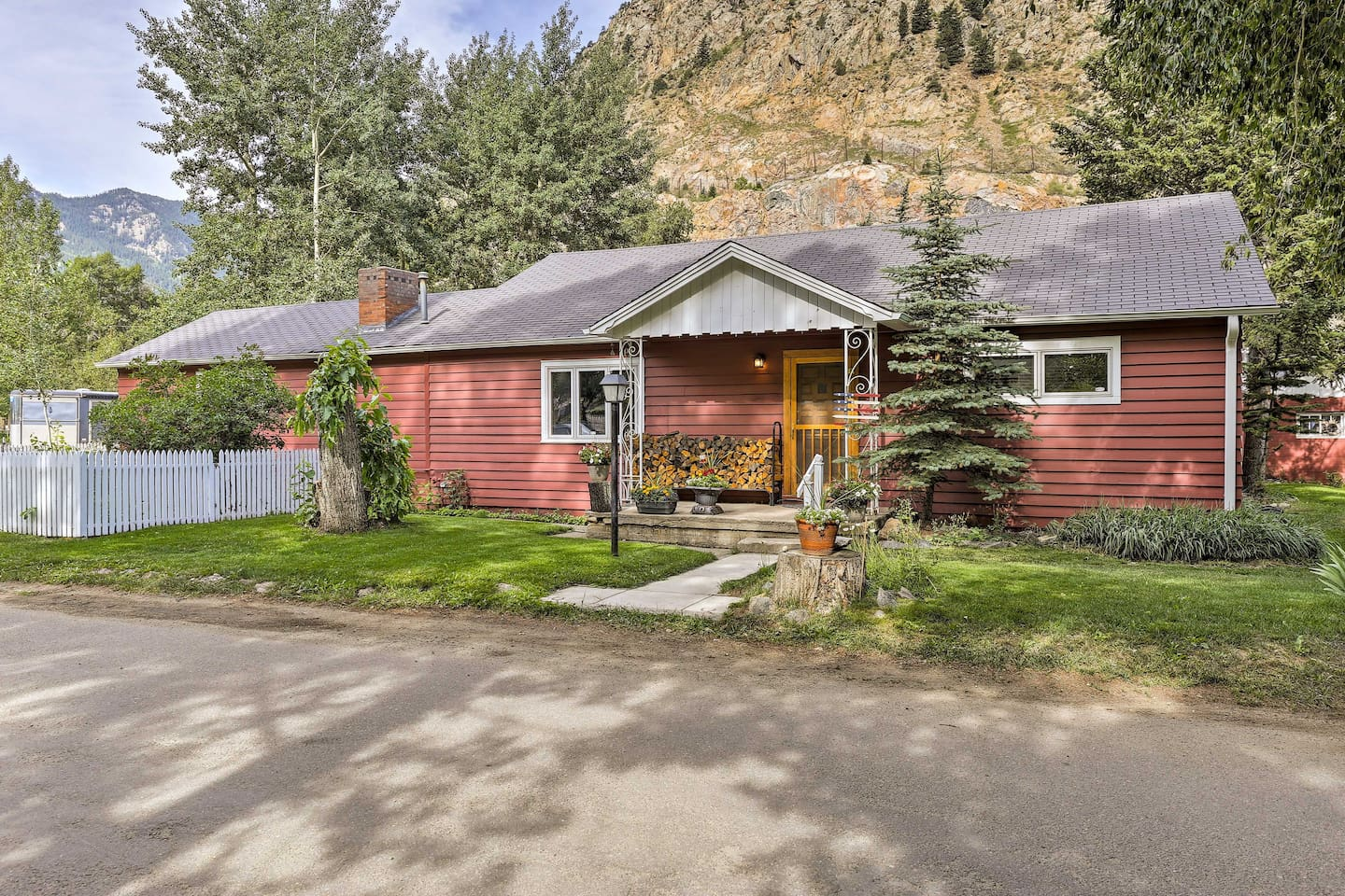 Explore the Rocky Mountains from this Georgetown vacation rental house!