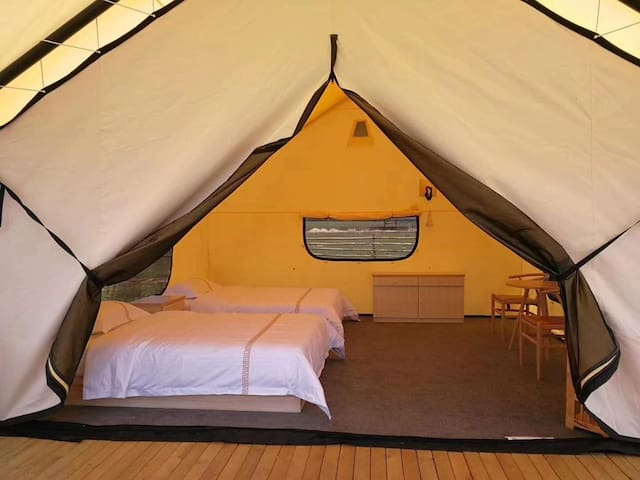 Betzet Beach Campsite - Air-conditioned tent