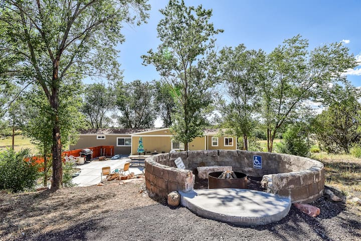 New Listing!  Fun, Fun, Fun! Great Value! Amazing Fire-Pit, Hot Tub, Views!
