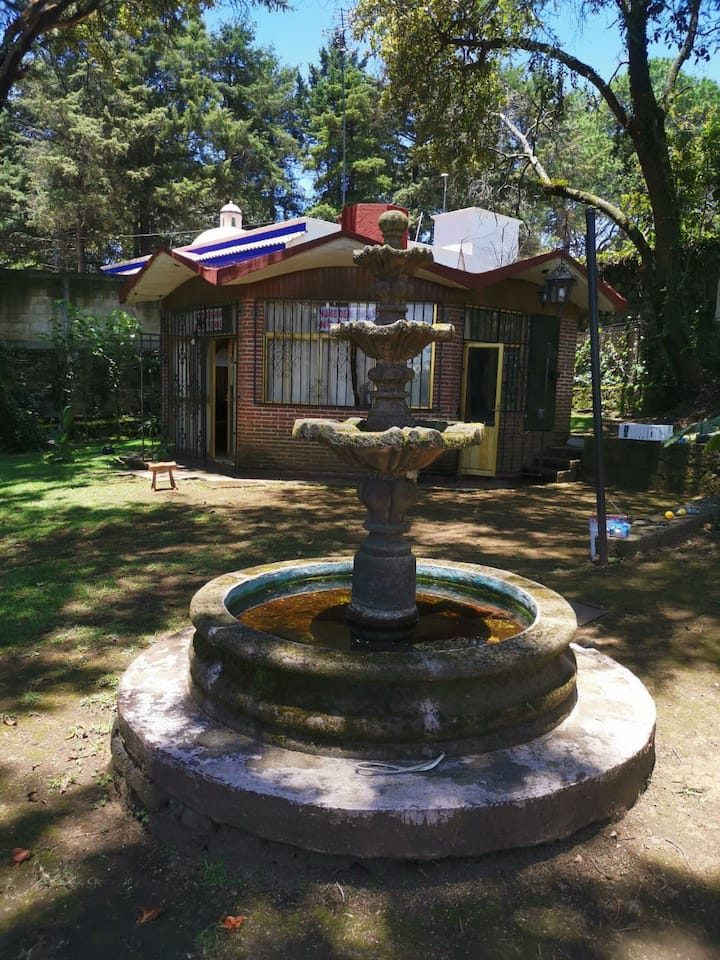 Casa para descansar en contacto con la naturaleza