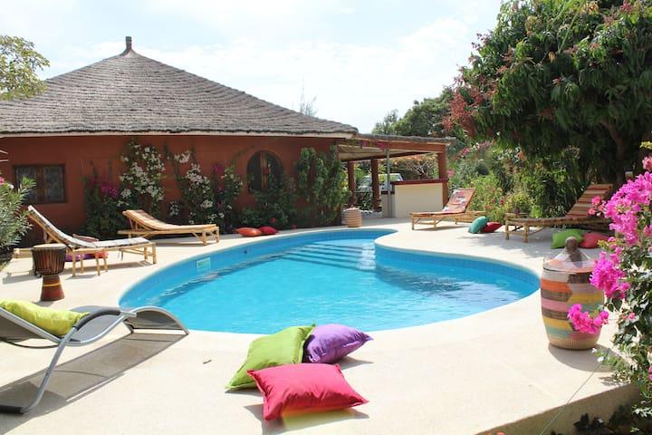 """villa 2 chambres """"KEUR SIMONE"""""""