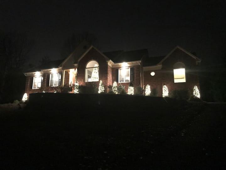 Beautiful, large home in Buckner, KY.