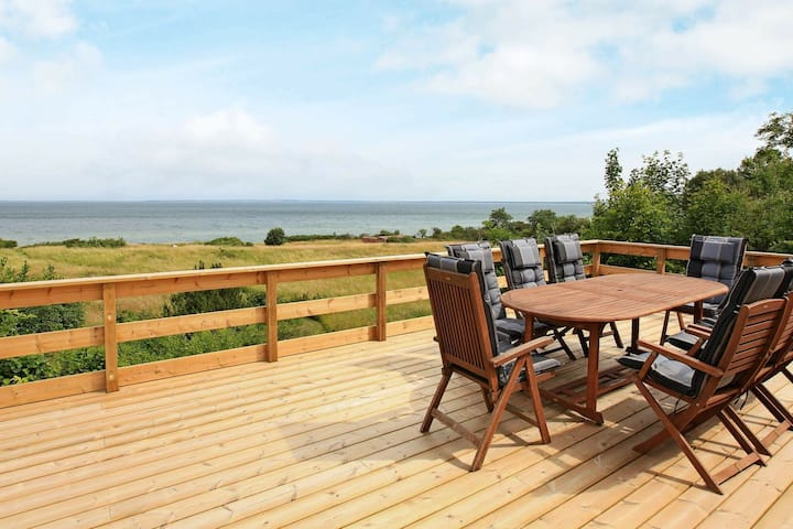 Unique Holiday Home in Asnæs with Sea View
