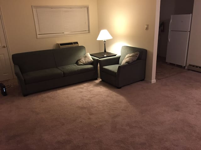 Fully furnished apartment space