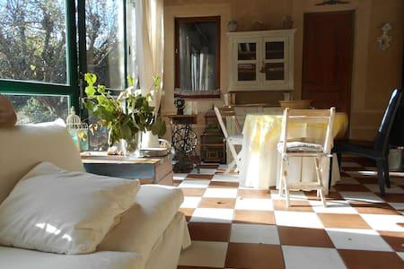 Casa invitados con jardin y piscina