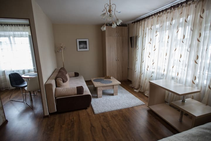 Comfortable apartment right in the heart of Minsk.