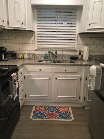 Full kitchen with everything you need