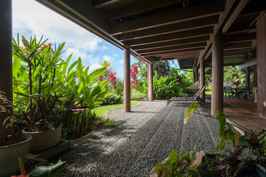 Covered lanai
