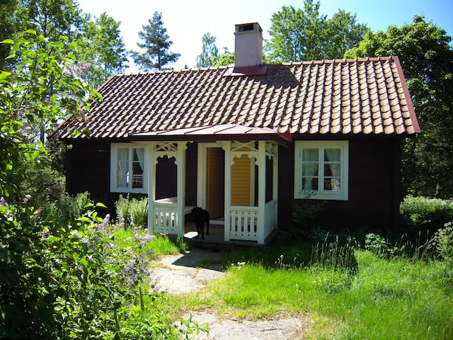 Charming cottage in the middle of the forest - Högsby - Jiné