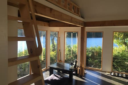 LAURENTIAN LAKE HOUSE -OFF THE GRID - Wentworth-Nord - Stuga