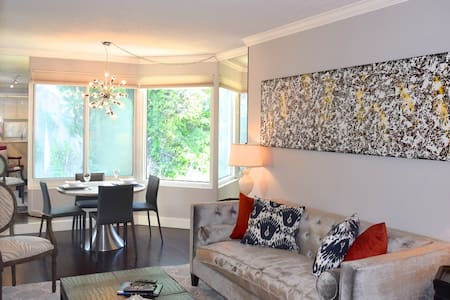Chic North Waterfront Condo with Parking!