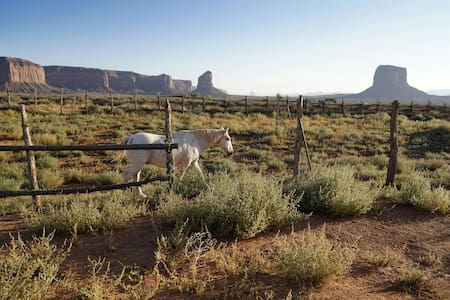 Good site to park and tent - Oljato-Monument Valley - Autocaravana