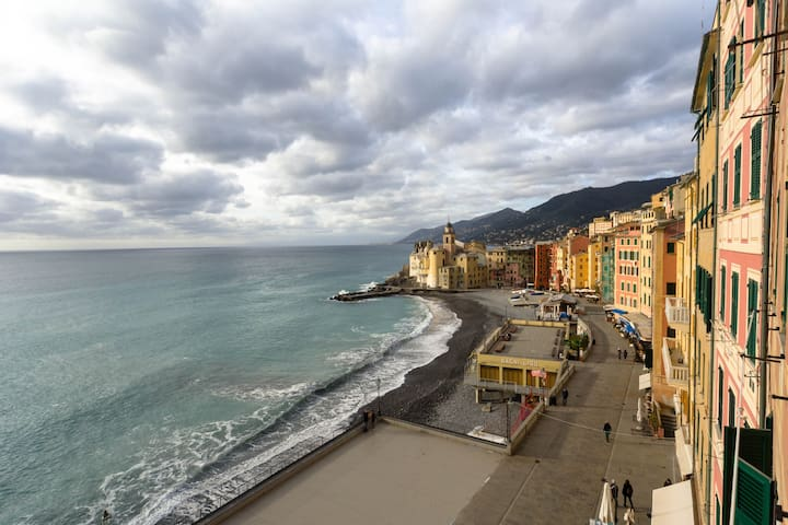 appartamento open space, vista mare - Camogli - Appartement