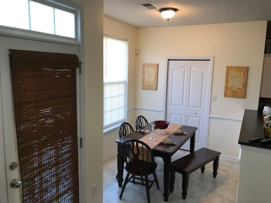 Eat in dining room conveniently located next to the kitchen.