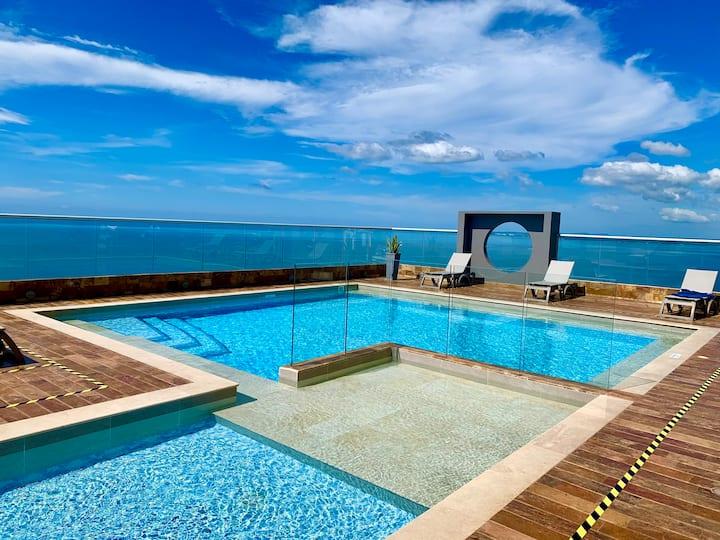 Exclusivo: Apartamento Nuevo con Vista al Mar.