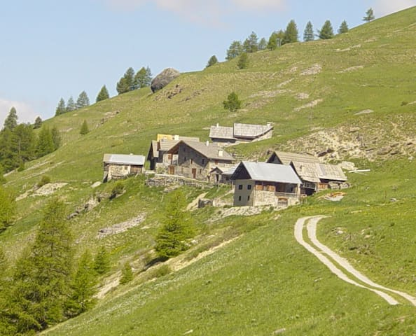 Chalet d'alpage Ceillac - Ceillac - บ้าน