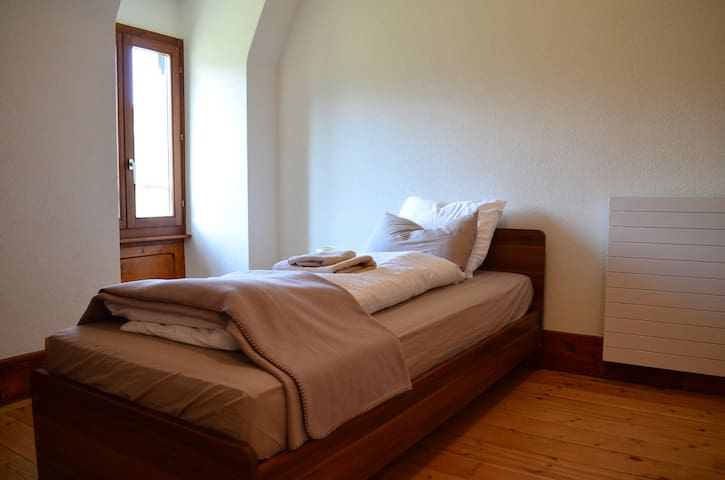 Lovely Single Room in Traditional Swiss Villa - Lavey-Morcles - วิลล่า