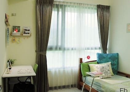 TaipeiBNT Female --Single Bedroom (Mountain View) - Tucheng District