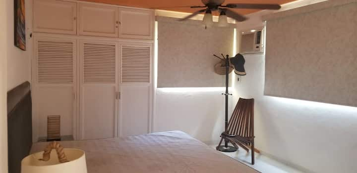 3 Room Front Sea Apartment in Chicxulub