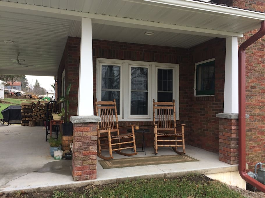 Rocking chairs on the porch are always a good idea.