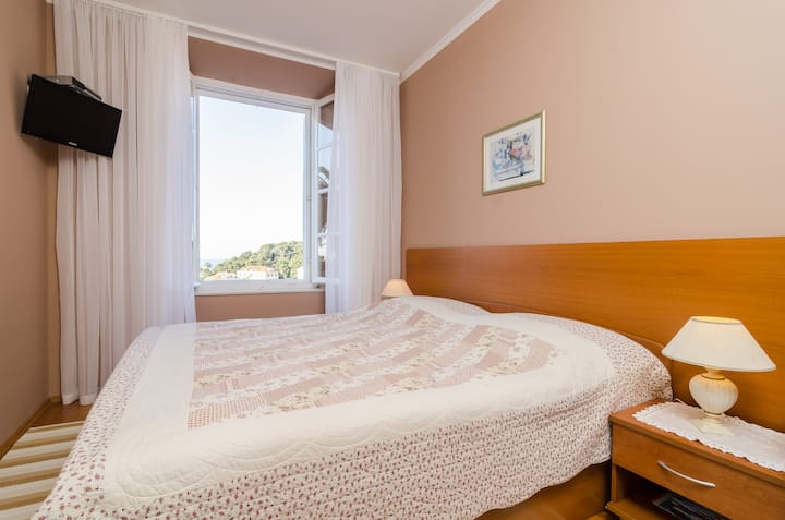 Rooms Lydia - Double Room with Sea View