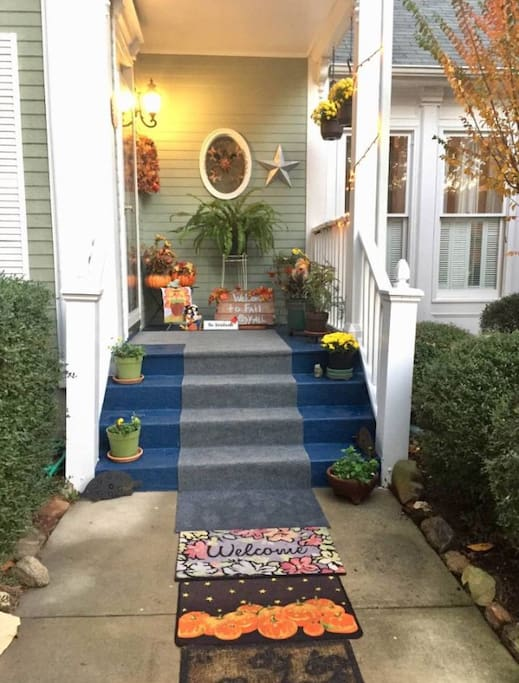 Fresh painted porch this fall!