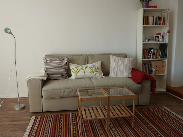 Cozy sunny 2 room flat in good location - Berlino - Appartamento