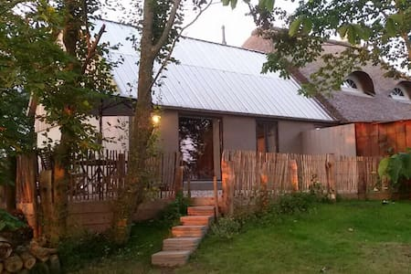 Ferien im kleinen Glueck mit Sauna im Garten