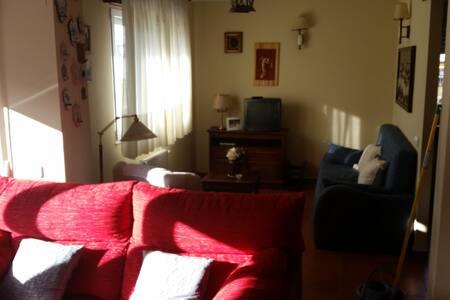 90 m2 decorado con estilo rústico - Secadura