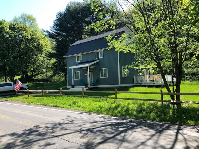Country setting but only 3 miles to downtown Cooperstown, 2 miles to Dreams Park and Ommegang,