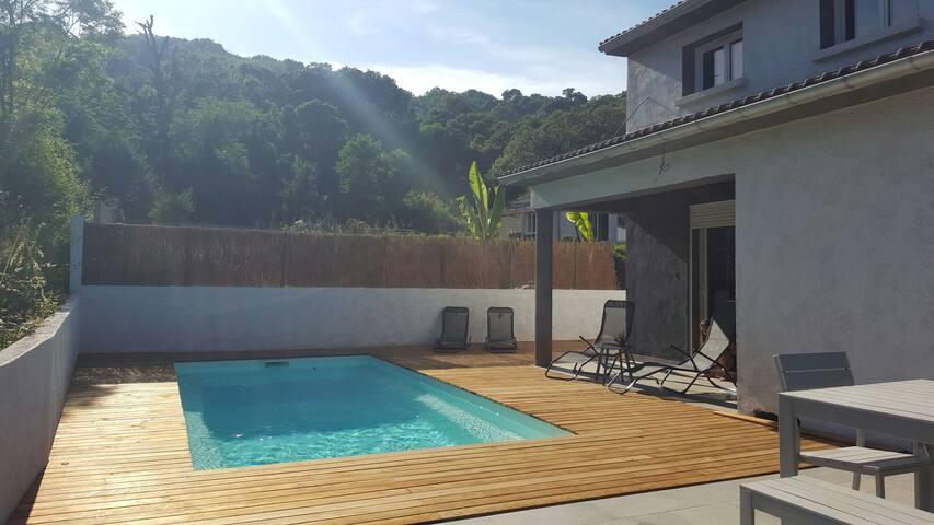 Villa lenza proximité mer piscine individuelle