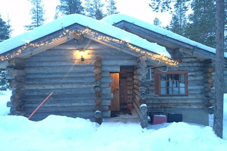 Greylog cabin at Levi skiresort - Kabin