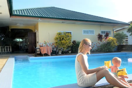 Vakantieappartement Morgenstond met zwembad - Paramaribo - Lägenhet
