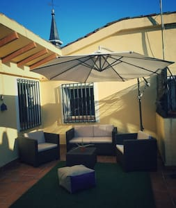 AMAZING attic 15 meters from Plaza Mayor - Madrid - Appartement en résidence
