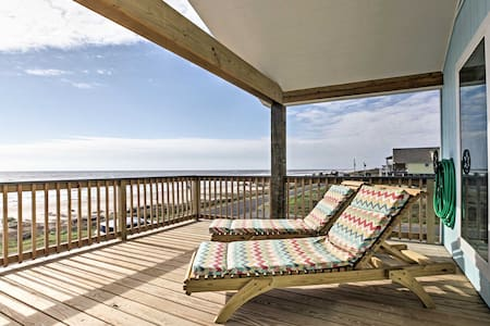 3BR Gilchrist House w/ Panoramic Ocean Views! - Bolivar Peninsula - Villa